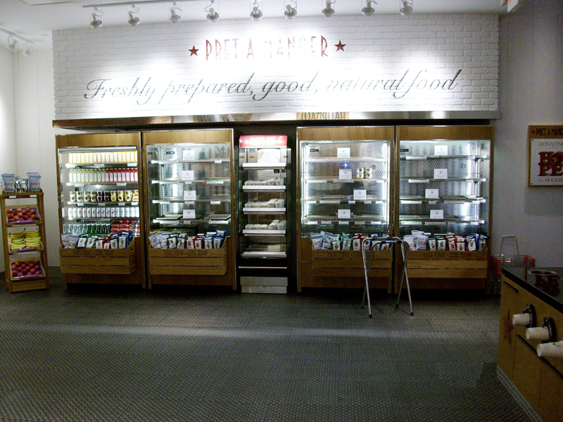 Pret A Manger – 507 Boylston Street Shop Fit-up, Boston, MA