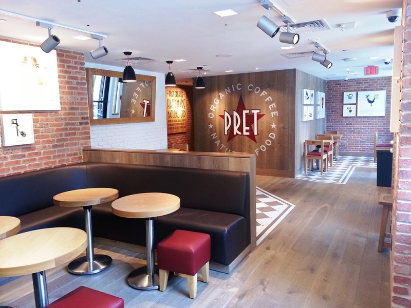 Pret A Manger – Federal Street Shop Fit-up, Boston, MA