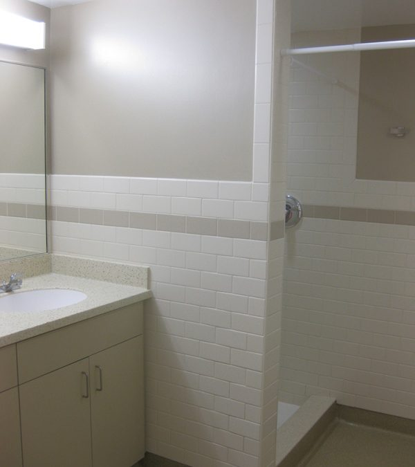 Stonehill College – Commonwealth Court Bathroom Renovations, Easton, MA