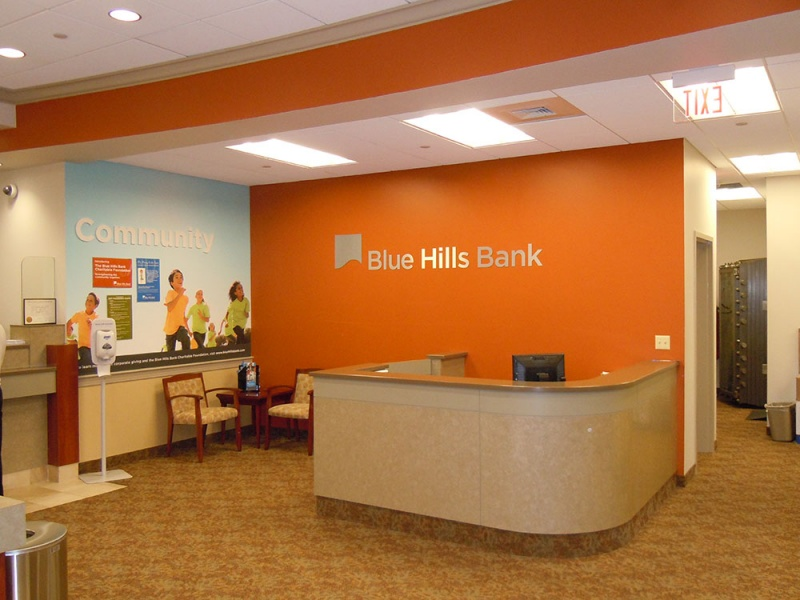 Blue Hills Bank, Main Office Renovation and Addition, Hyde Park, MA