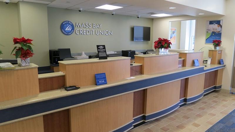 Mass Bay Credit Union, South Boston Office Renovations, South Boston, MA