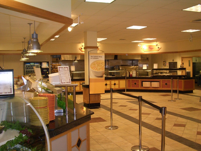 Stonehill College – Roche Commons Servery Renovations, Easton, MA