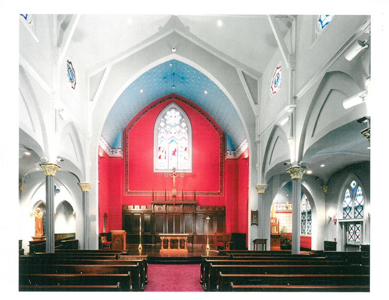 St. Paul Church Worship Space Renovations , Hingham, MA