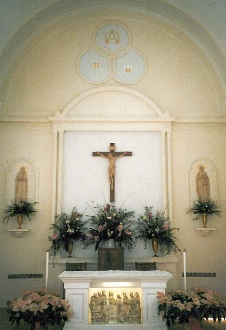 Catholic Memorial Home Chapel – Liturgical Renovations, Fall River, MA