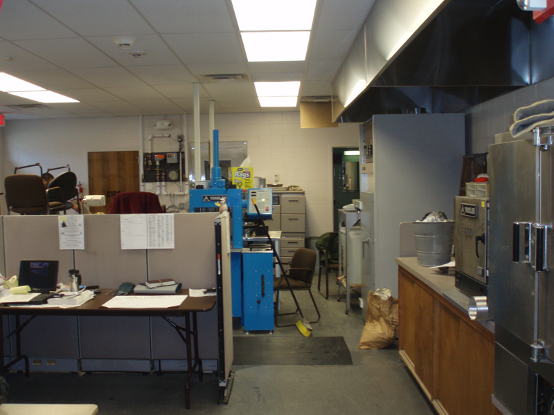 Mass Highway Dept – District 5 Testing Lab Renovations, Taunton, MA