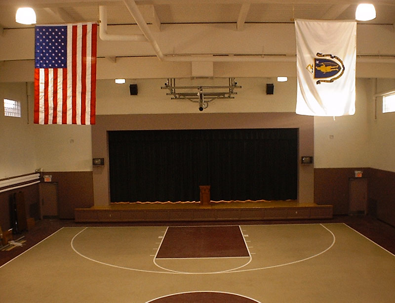 St. Edward School – Gymnasium Renovation, Brockton, MA